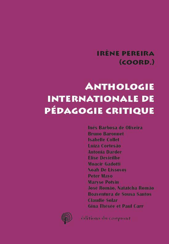 ANTHOLOGIE INTERNATIONALE DE PEDAGOGIE CRITIQUE